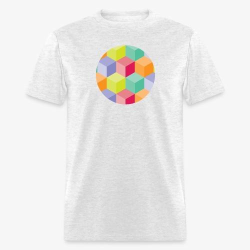 Cubed Circle - Men's Basic - Men's T-Shirt