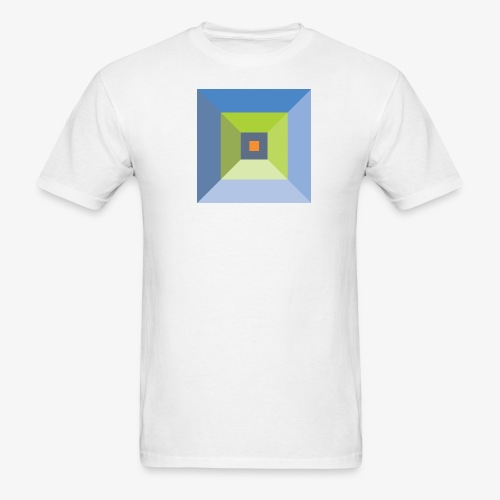 Bird's Eye Pyramid - Men's Basic - Men's T-Shirt