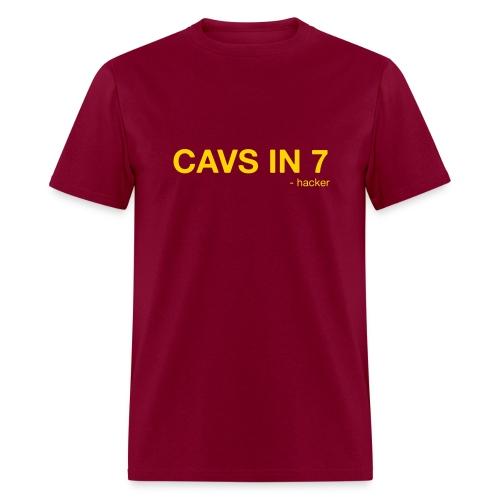 Cavs in 7 - Men's T-Shirt