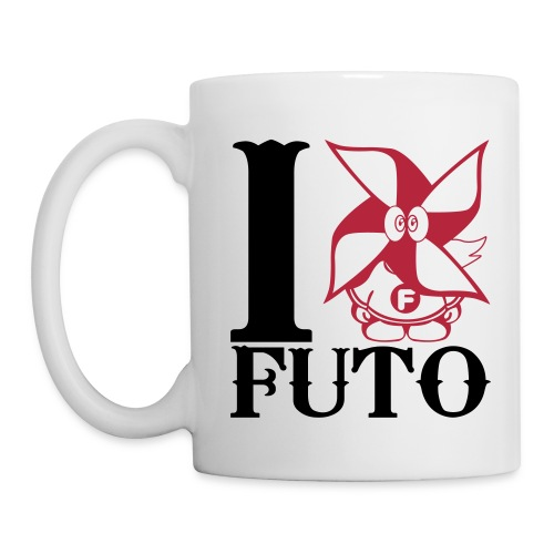 I Heart Futo Mug - Coffee/Tea Mug