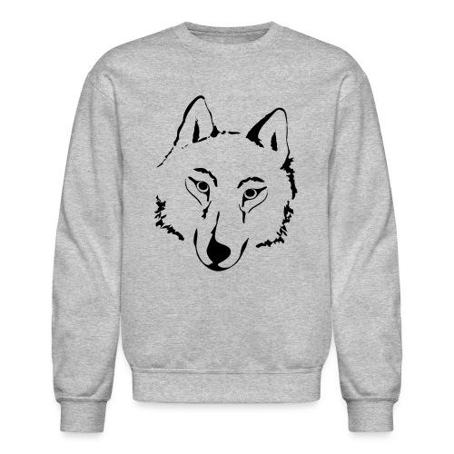 Fox Men's Crewneck Sweatshirt - Crewneck Sweatshirt