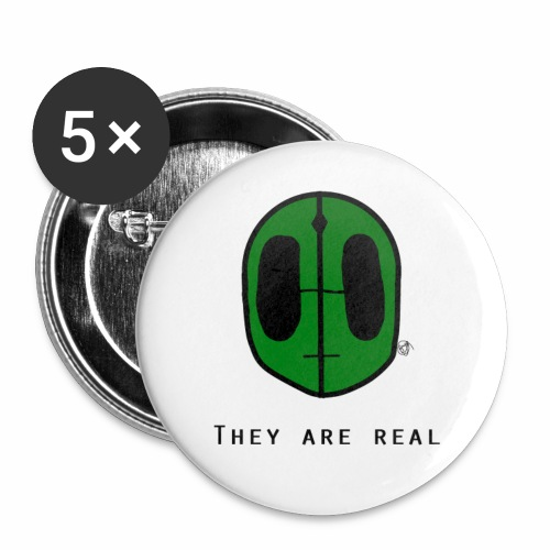 They Are Real Pins - Small Buttons