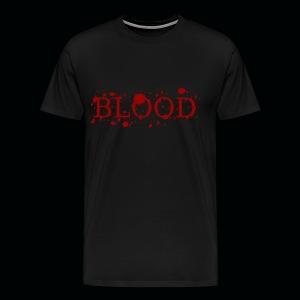 Mens Splattered Blood  - Men's Premium T-Shirt