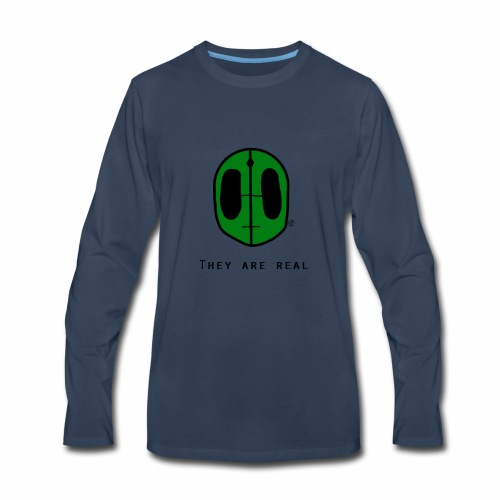 They Are Real Long Sleeve - Men's Premium Long Sleeve T-Shirt