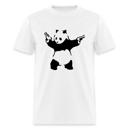 Panda Guns Men's Standard Weight T-Shirt - Men's T-Shirt
