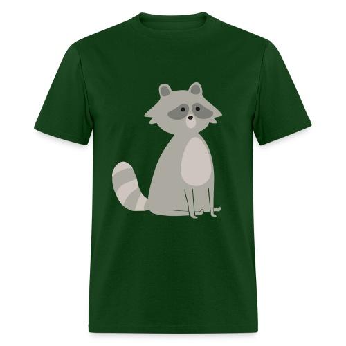 Fat raccoon - Men's T-Shirt