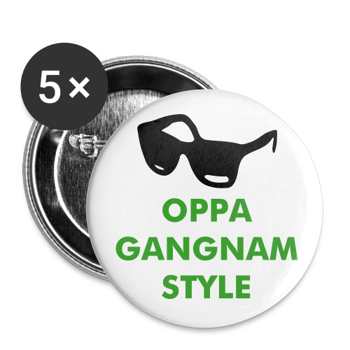 GANGNAM STYLE PINS #1 - Buttons small 1'' (5-pack)