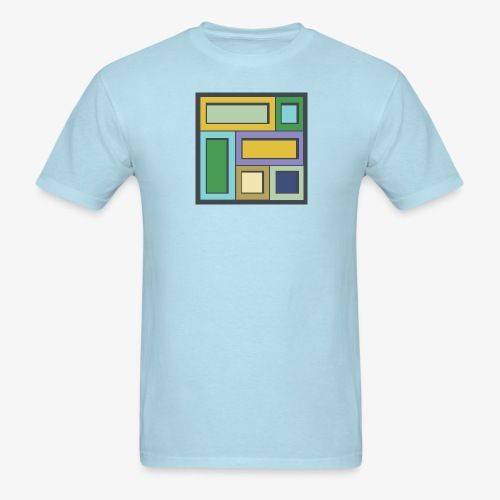 Squares & Rectangles - Men's Basic - Men's T-Shirt
