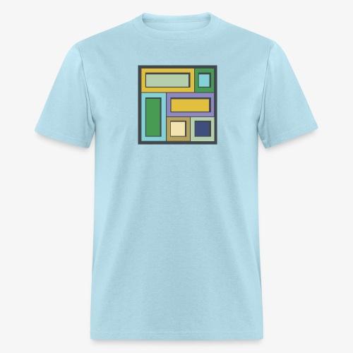 Squares & Rectangles - Men's Basic - Men's T-Shirt