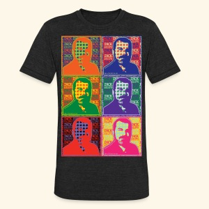 Dick Law Firm - Pop Art T-Shirt - Unisex - Unisex Tri-Blend T-Shirt by American Apparel