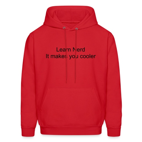 Learn to love the nerd - Men's Hoodie