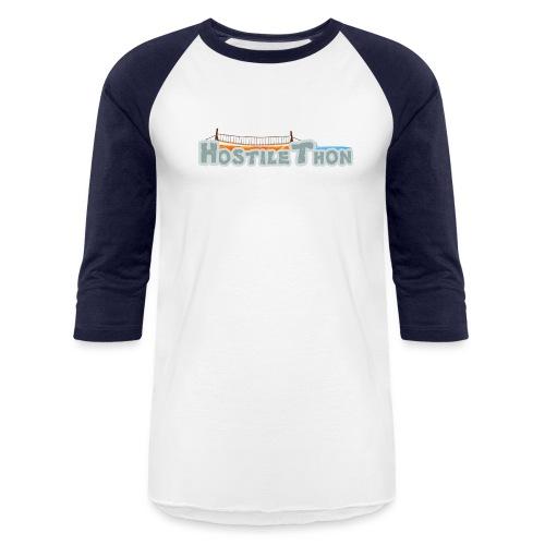 3/4 Hostilethon Shirt - Baseball T-Shirt