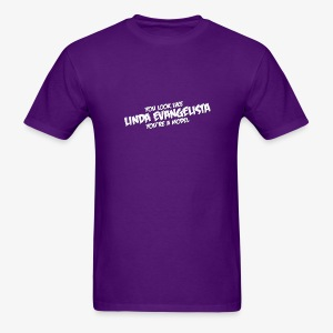 Linda (Purple T) - Men's T-Shirt