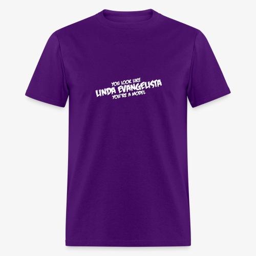 Linda (Purple T) - Men's T-Shirt
