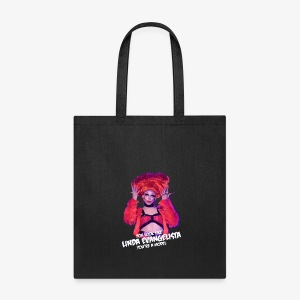 Linda (Black Tote) - Tote Bag
