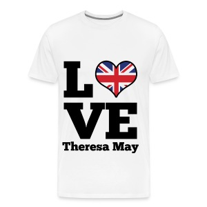 love theresa may  - Men's Premium T-Shirt