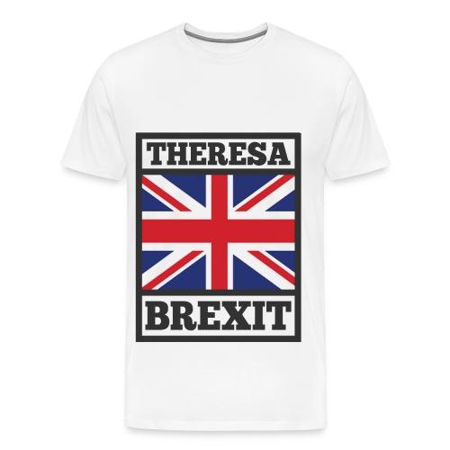 love theresa may ,theresa may,may,britain, - Men's Premium T-Shirt