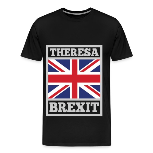 love theresa may ,theresa may,may,britain, - Men's Premium T-Shirt
