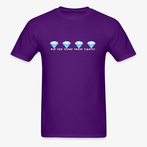 Those Tights (Purple T) - Men's T-Shirt
