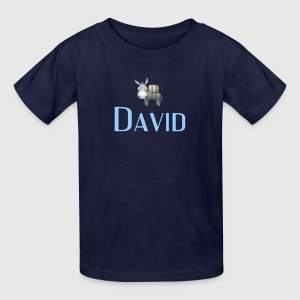 david  name DONKEY CUTE LITTLE BOYS shirt - Kids' T-Shirt