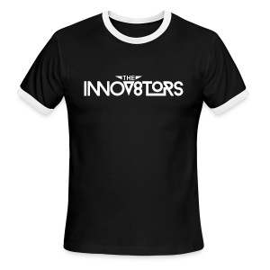 The Innov8tors Pioneer T-Shirt (W/B) (Mens) - Men's Ringer T-Shirt