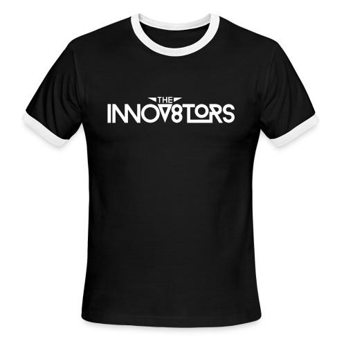 The Innov8tors Pioneer T-Shirt (W/B) (Mens) - Men's Ringer T-Shirt