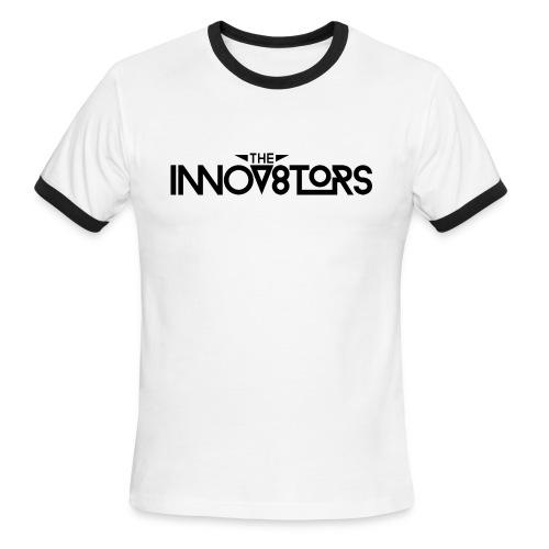 The Innov8tors Pioneer T-Shirt (B/W) (Mens) - Men's Ringer T-Shirt