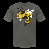 T-Shirts ~ Men's T-Shirt by American Apparel ~ Corner Yellow Jacket