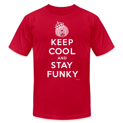 Keep Cool and Stay Funky - Men's Fine Jersey T-Shirt