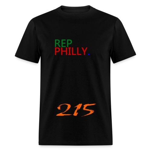 rep philly 215 - Men's T-Shirt
