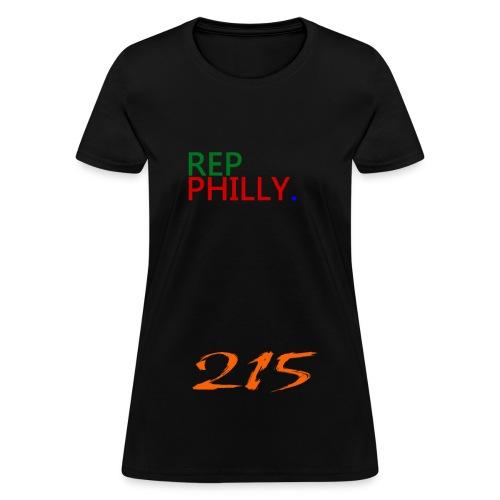 womens rep philly - Women's T-Shirt