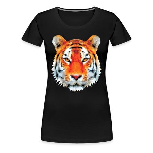 Low poly tiger tshirt - Women's Premium T-Shirt