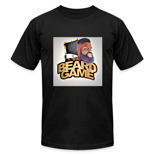 black beard game  - Men's Fine Jersey T-Shirt