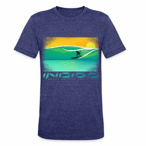 INDIGO BRAND MIAMI SURF COLLECTION - Unisex Tri-Blend T-Shirt by American Apparel