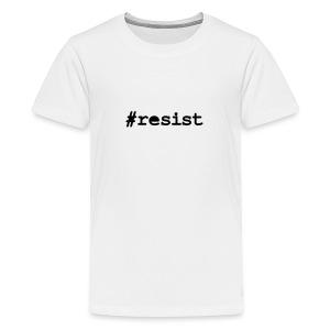 resist hashtag