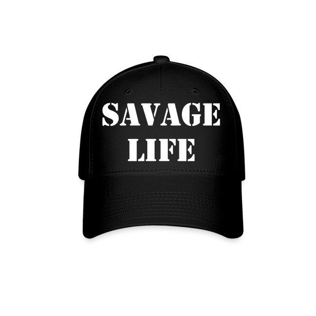 SAVAGE LIFE FITTED HAT