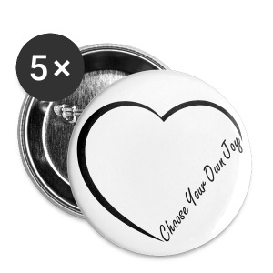 Diamond Choose Your Own Joy Pin - Small Buttons