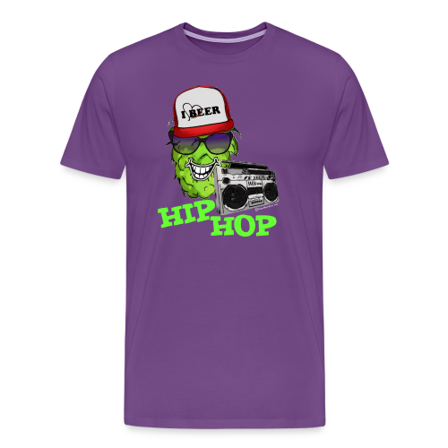 HIP HOP Men's Premium T-Shirt - Men's Premium T-Shirt