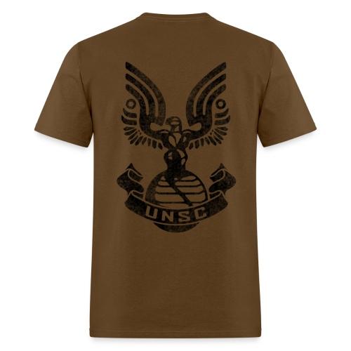 Halo - UNSC Logo Weathered - Men's T-Shirt