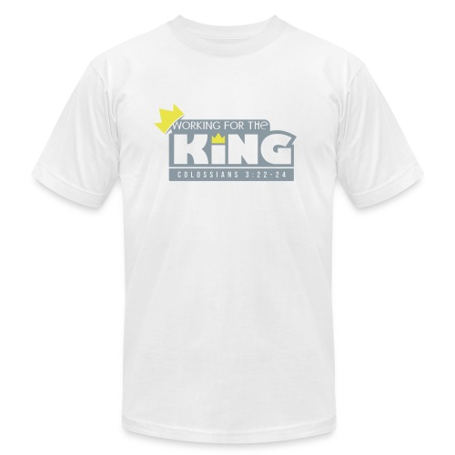 Work for our King - Men's Fine Jersey T-Shirt
