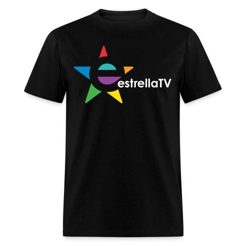 Men Estrella TV Shirt BL/WH - Men's T-Shirt
