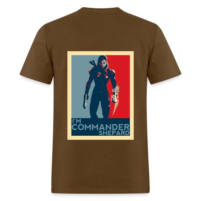Mens 3 T Shepard Shirt Flg StudiosMass Effect Im Commander QBoxerdCW