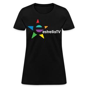 Women Estrella TV Shirt BL/WH - Women's T-Shirt