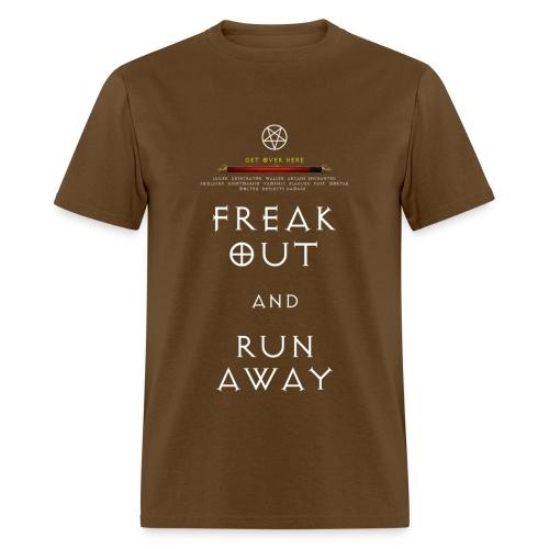 Diablo 3 Freak Out and Run Away - Men's T-Shirt