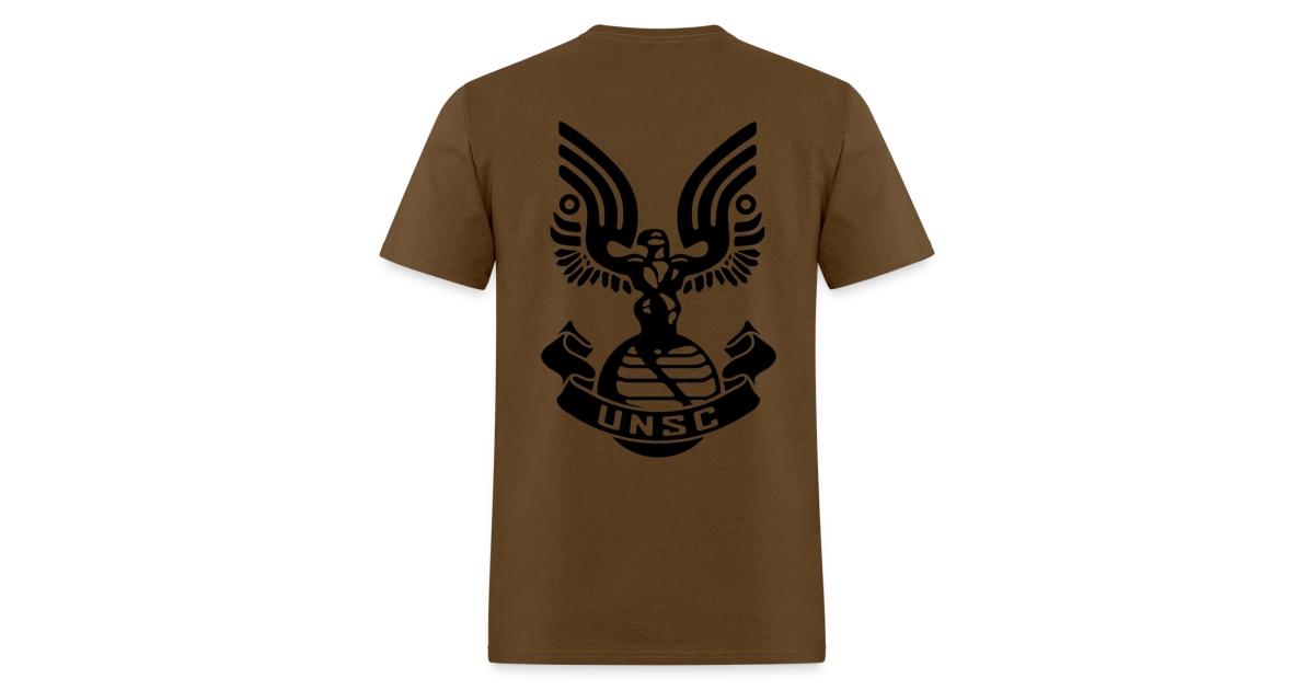 Flg Studios Halo Unsc Logo Mens T Shirt