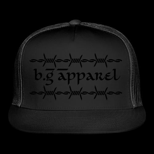 b.G Apparel/Blacked Out - Trucker Cap