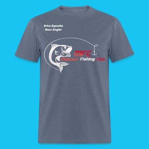 Erica Esposito Bass Angler - Men's T-Shirt