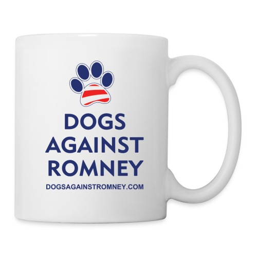 Official Dogs Against Romney Paw Mug - Coffee/Tea Mug
