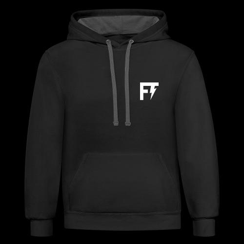 FT/NS CONTRAST HOODIE - Contrast Hoodie
