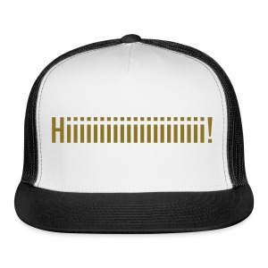 GOLD VINYL Van Buren Trucker Hat - Trucker Cap